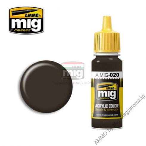 A.MIG-0020 6K RUSSIAN BROWN