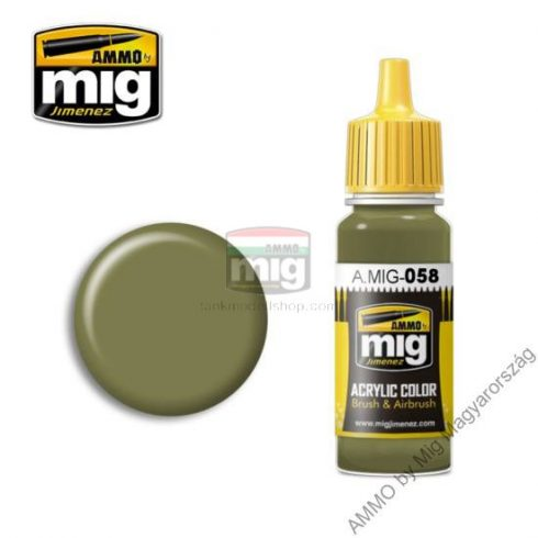 A.MIG-0058 LIGHT GREEN KHAKI