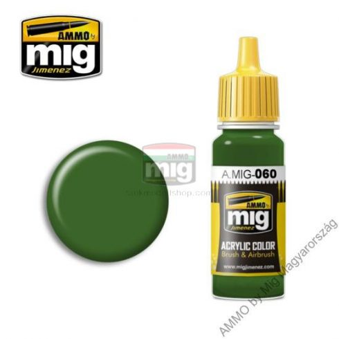 A.MIG-0060 PALE GREEN