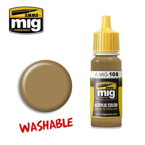 A.MIG-0105 WASHABLE DUST (RAL 8000)  makett festék