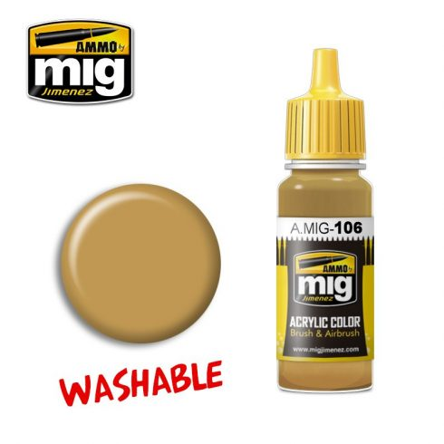 A.MIG-0106 WASHABLE SAND (RAL 8020)