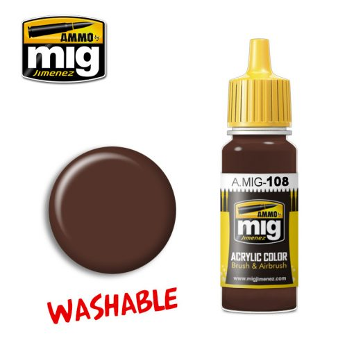 A.MIG-0108 WASHABLE MUD makett festék