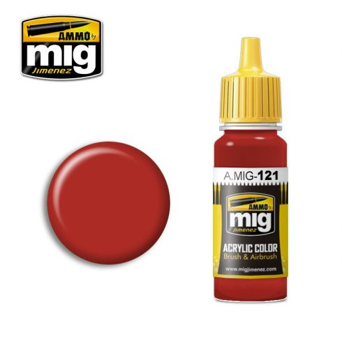 A.MIG-0121 BLOOD RED