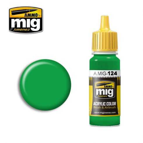 A.MIG-0124 LIME GREEN