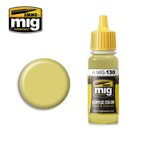 A.MIG-0130 FADED YELLOW
