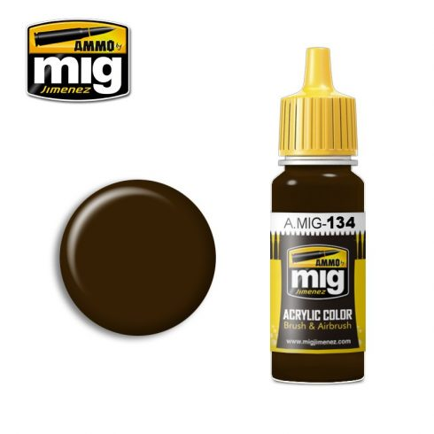 A.MIG-0134 BURNT BROWN RED