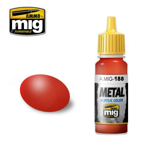 A.MIG-0188 METALLIC RED