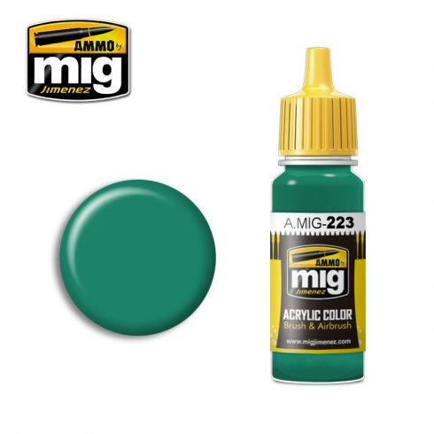 A.MIG-0223 INTERIOR TURQUOISE GREEN