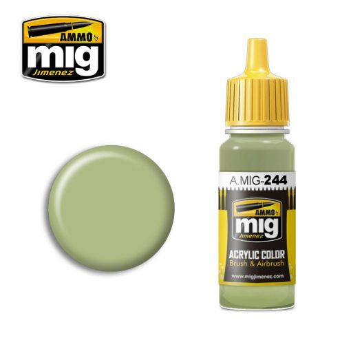 A.MIG-0244 DUCK EGG GREEN (BS 216) makett festék