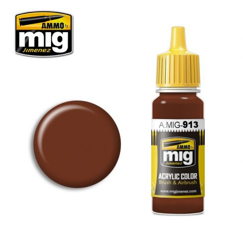 A.MIG-0913 RED BROWN BASE