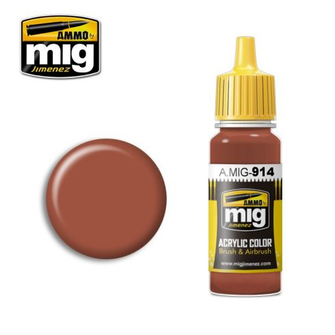 A.MIG-0914 RED BROWN LIGHT