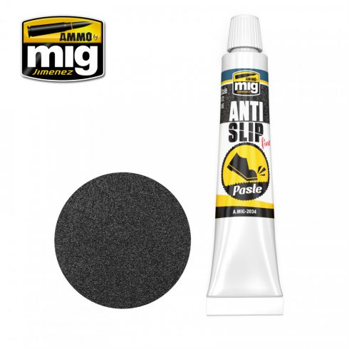 A.MIG-2034 ANTI-SLIP PASTE - BLACK COLOR FOR 1/72 & 1/48