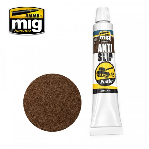 A.MIG-2035 ANTI-SLIP PASTE - BROWN COLOR FOR 1/35