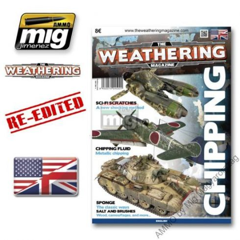 A.MIG-4502 The Weathering Magazine, Issue 3: CHIPPINGS - FESTÉK LEVERŐDÉS English