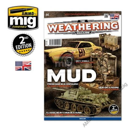 """A.MIG-4504 THE WEATHERING MAGAZINE 5 (ENGLISH) """"MUD"""" - """"SÁR"""" Issue 5"""