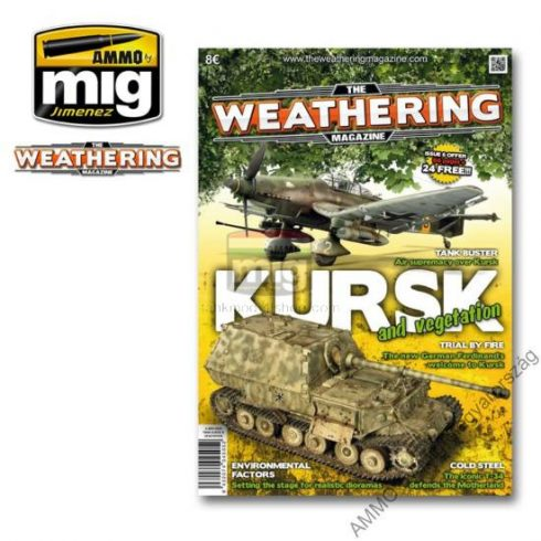 A.MIG-4505 The Weathering Magazine, Issue 6: KURSK & VEGETATION - KURSZK és NÖVÉNYZET English