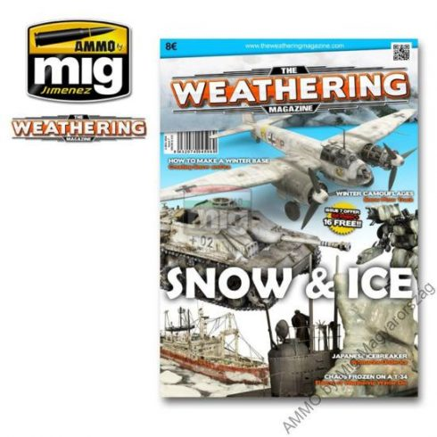 "A.MIG-4506 THE WEATHERING MAGAZINE (ENGLISH) ""SNOW & ICE"" Issue 7"