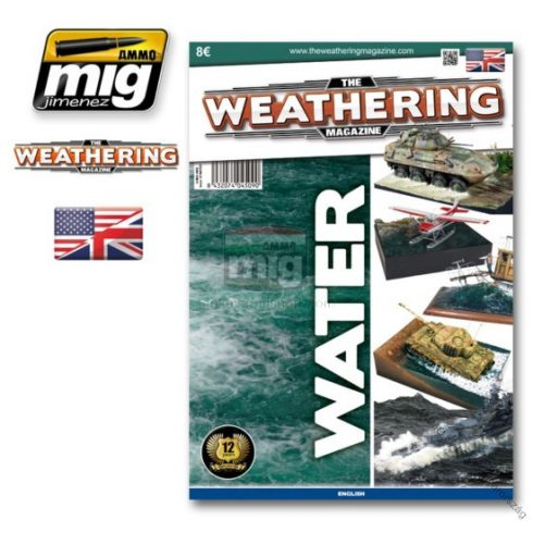 A.MIG-4509 The Weathering Magazine Issue 10: Water English version