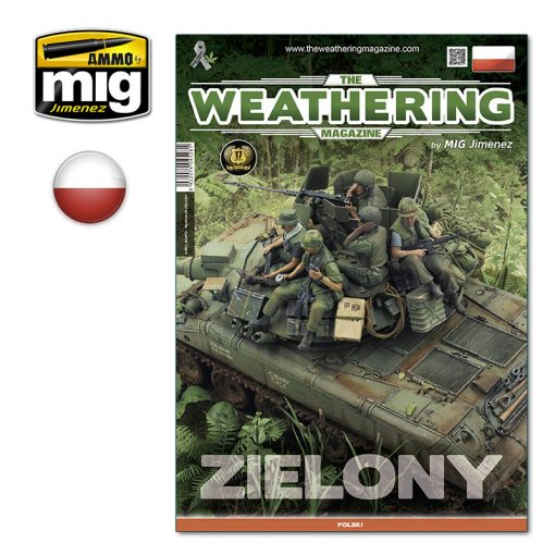 AMIG4528PO Issue 29. ZIELONY POLISH