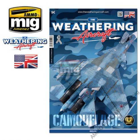 A.MIG-5206 TWA ISSUE 6 CAMOUFLAGE (ENGLISH) - Álcafestés (Angol nyelvű) - The Weathering Aircraft