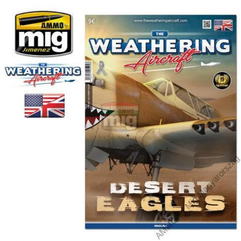A.MIG-5209 TWA ISSUE 9 DESERT EAGLES (ENGLISH) - (Angol nyelvű) - The Weathering Aircraft