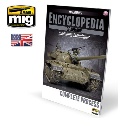 A.MIG-6155 ENCYCLOPEDIA OF ARMOUR MODELLING TECHNIQUES VOL. EXTRA - COMPLETE PROCESS ENGLISH