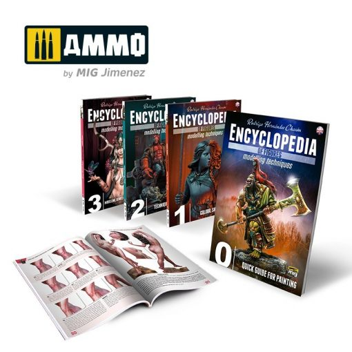 AMIG6219 ENCYCLOPEDIA OF FIGURES MODELLING TECHNIQUES Complete ENGLISH
