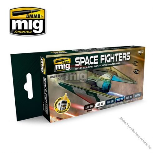 A.MIG-7131 SPACE FIGHTERS SCI-FI COLORS