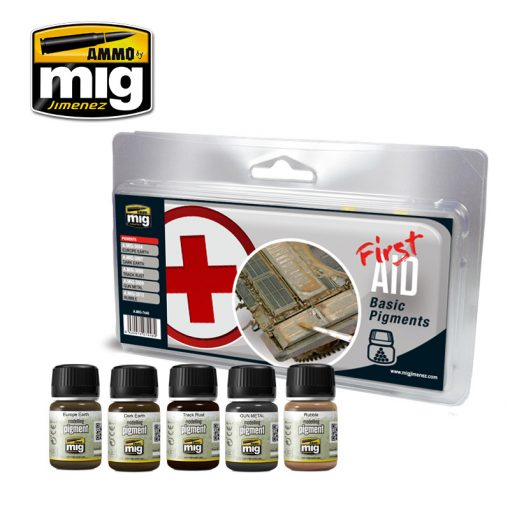 A.MIG-7448 FIRST AID BASIC PIGMENTS