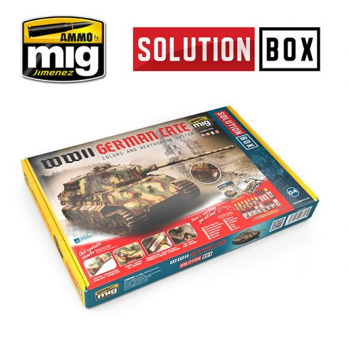 A.MIG-7703 WWII GERMAN LATE SOLUTION BOX