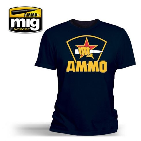 A.MIG-8015L AMMO SPECIAL FORCES T-SHIRT