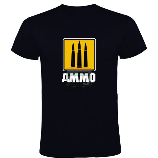 AMIG8055M AMMO 3 BULLETS, 3 FOUNDERS T-SHIRT