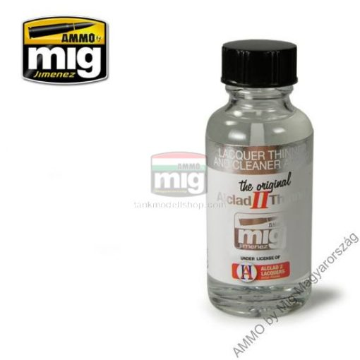 A.MIG-8200 LACQUER THINNER AND CLEANER ALC307