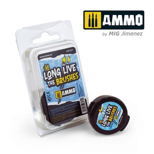 AMIG8579 Long Live the Brushes - Special soap for cleaning and care of your brushes