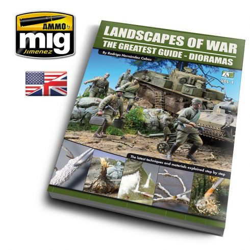 A.MIG-EURO-0004 LANDSCAPES OF WAR: THE GREATEST GUIDE - DIORAMAS VOL. 1 (English)
