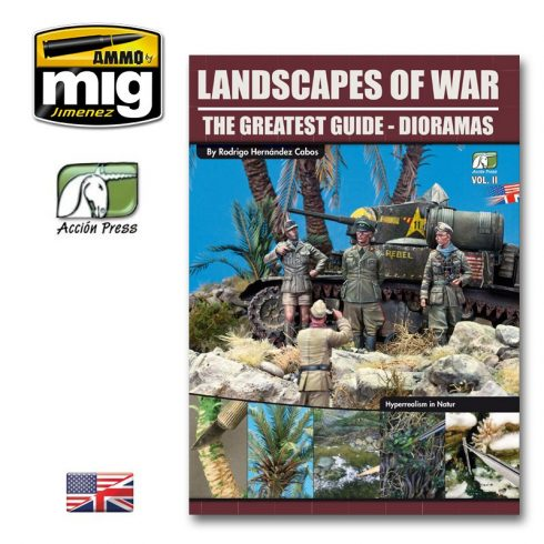 A.MIG-EURO-0008 LANDSCAPES OF WAR: THE GREATEST GUIDE - DIORAMAS VOL. 2 (English)