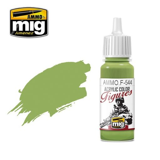 AMIGF544 FIGURES PAINTS Pacific Green