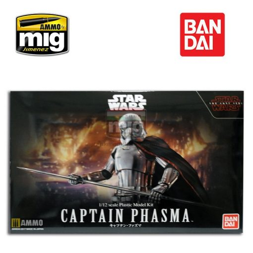 BANDAI (038) STAR WARS CPT PHASMA 1/12 makett