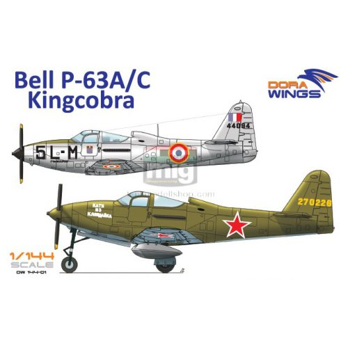 DORAW14401 Bell P-63A/C Kingcobra (2 in 1)