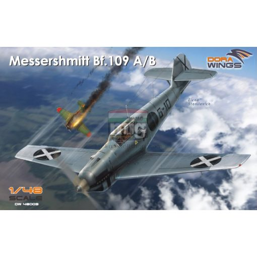 DORAW48009 Messershmitt Bf.109 A/B Legion Condor makett