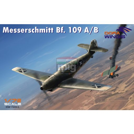 DORAW72011 Messershmitt Bf.109 A/B Legion Condor makett