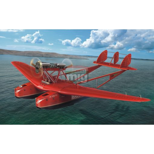 "DORAW72015 Savoia-Marchetti S.55 ""Record flights"" makett"