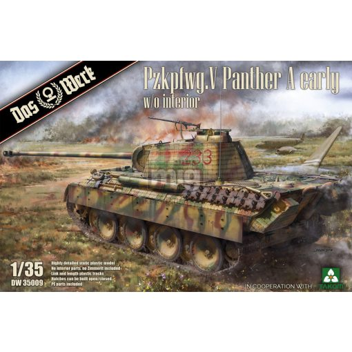 DW35009 Pzkpfwg. V Panther A early makett