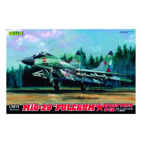 """GWH04814 1/48 MIG-29 9-12 Early Type """"Fulcrum """""""