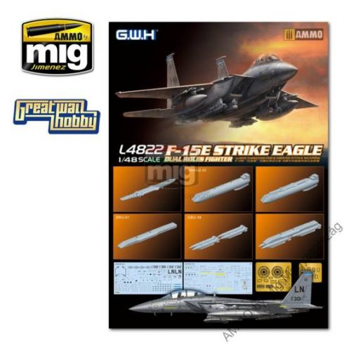 GWH04822 1/48 F-15E Strike Eagle Dual-Roles Fighter