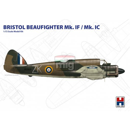 H2K72002 Hobby 2000 72002 Beaufighter Mk. IF/IC makett