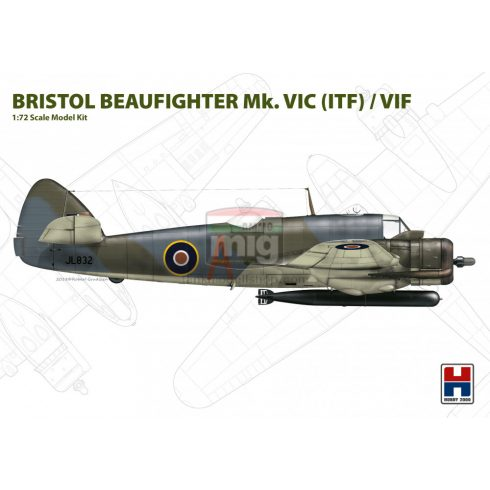 H2K72004 Hobby 2000 72004 Beaufighter Mk. VIC ( ITF ) / VIF