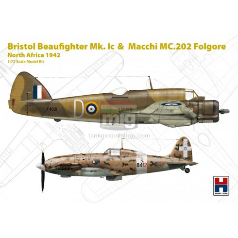 H2K72005 Hobby 2000 72005 Beaufighter Mk. IC &  Macchi 202