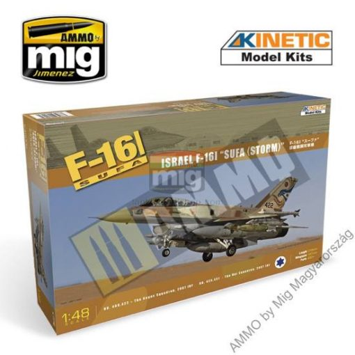 KINETIC 48006 1/48 F-16I SURF makett