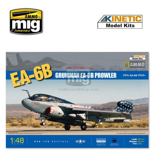 KINETIC 48022 1/48 EA-6B makett